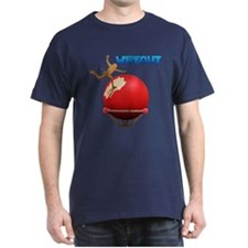 Wipeout Mens DarkT-Shirt
