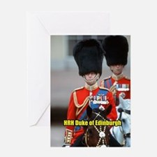 HRH Duke of Edinburgh Greeting Card