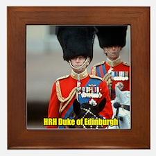 HRH Duke of Edinburgh Framed Tile