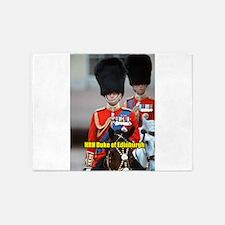 HRH Duke of Edinburgh 5'x7'Area Rug