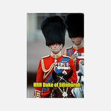 HRH Duke of Edinburgh Rectangle Magnet