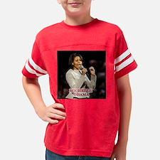 MichelleGraySuit16X16 Youth Football Shirt