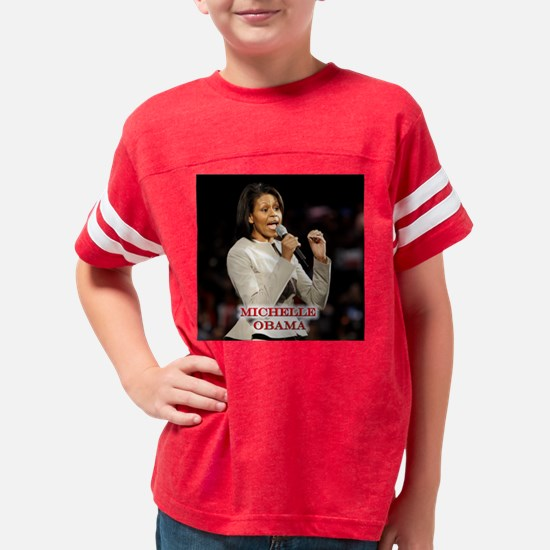 MichelleGraySuit16X16 Youth Football Shirt