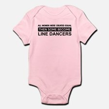 line dance designs Infant Bodysuit