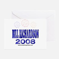 Bill Richardson Fireworks Greeting Cards (Package