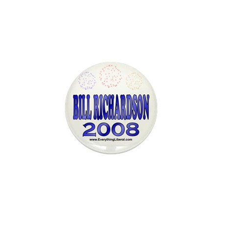 Bill Richardson Fireworks Mini Button