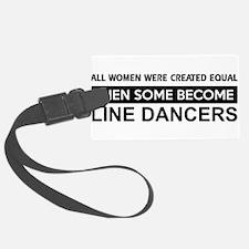 line dance designs Luggage Tag