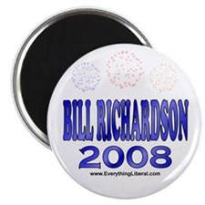 Bill Richardson Fireworks Magnet