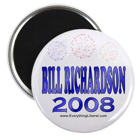 Bill Richardson Fireworks Magnet