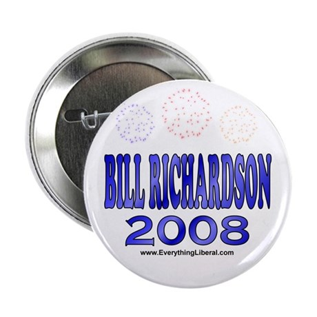 Bill Richardson Fireworks Button