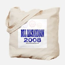 Bill Richardson Fireworks Tote Bag