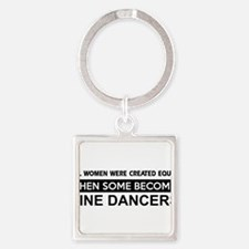 line dance designs Square Keychain