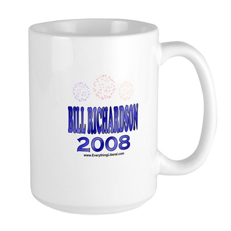 Bill Richardson Fireworks Large Mug