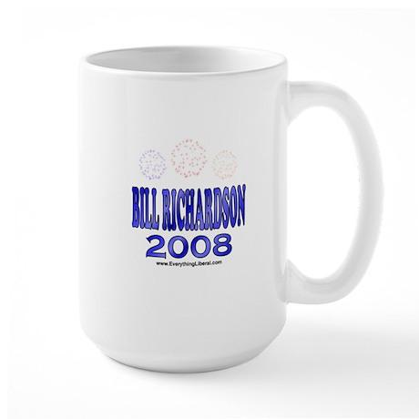 Bill Richardson Fireworks Large Mug
