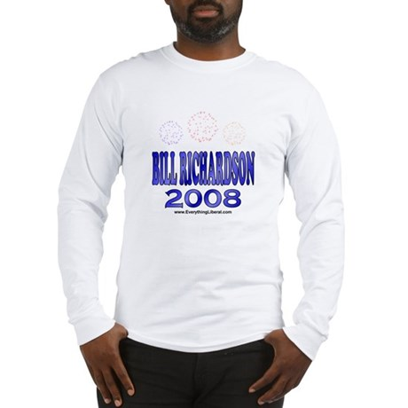 Bill Richardson Fireworks Long Sleeve T-Shirt