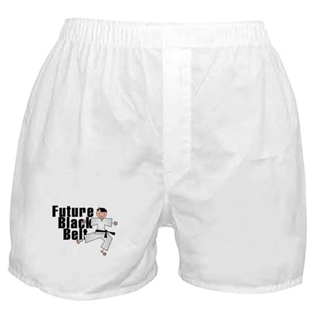Brunette Future Black Belt Boxer Shorts