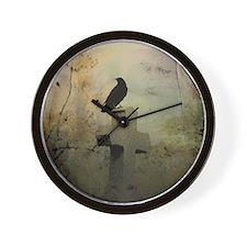 Gothic Perch Wall Clock