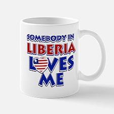 Somebody in Liberia Loves me Mug