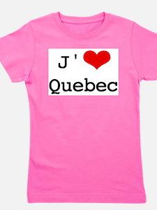 J' [heart] Quebec T-Shirt