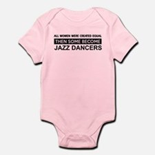 jazz dance designs Infant Bodysuit