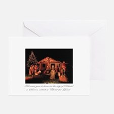 """""""Manger Scene"""" Greeting Cards (Pk of 10)"""