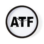 ATF Alcohol Tobacco & Firearms Wall Clock