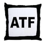 ATF Alcohol Tobacco & Firearms Throw Pillow