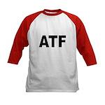 ATF Alcohol Tobacco & Firearms (Front) Kids Baseba