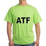 ATF Alcohol Tobacco & Firearms Green T-Shirt