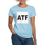 ATF Alcohol Tobacco & Firearms Women's Pink T-Shir