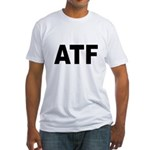 ATF Alcohol Tobacco & Firearms Fitted T-Shirt