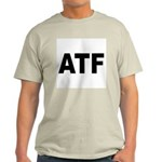 ATF Alcohol Tobacco & Firearms Ash Grey T-Shirt