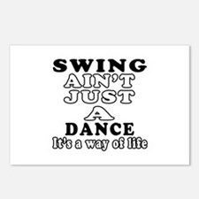 Swing Not Just A Dance Postcards (Package of 8)