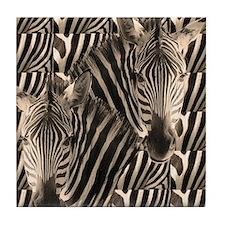 Optial Illusion Zebra Tile Coaster