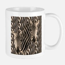Optial Illusion Zebra Mugs