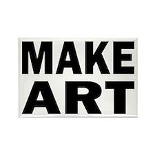 Make Art Rectangle Magnet (10 pack)