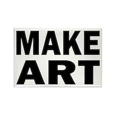 Make Art Rectangle Magnet (100 pack)