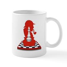 White Bishop/Black Bishop Mug