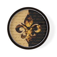 New Orleans Memories Wall Clock