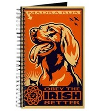 Obey the Irish Setter! Propaganda Journal