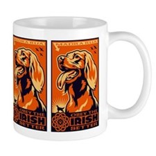 Obey the Irish Setter! Propaganda Mug