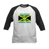 Jamaica bobsled Baseball Jersey