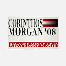 Sonny Corinthos for President Rectangle Magnet