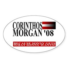 Sonny Corinthos for President Oval Decal