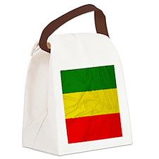 Rasta Flag Canvas Lunch Bag
