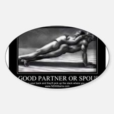 A good partner or spouse Decal