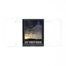 My Provider Aluminum License Plate
