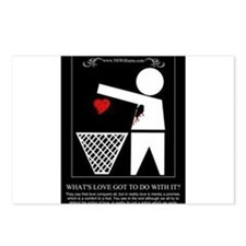 Whats Love Got To Do With It Postcards (Package of