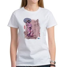 Asian Girls Pink T-Shirt