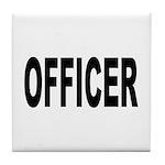 Officer Tile Coaster